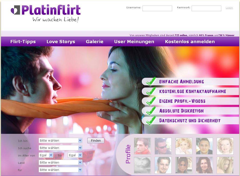 Kostenlos im internet flirten