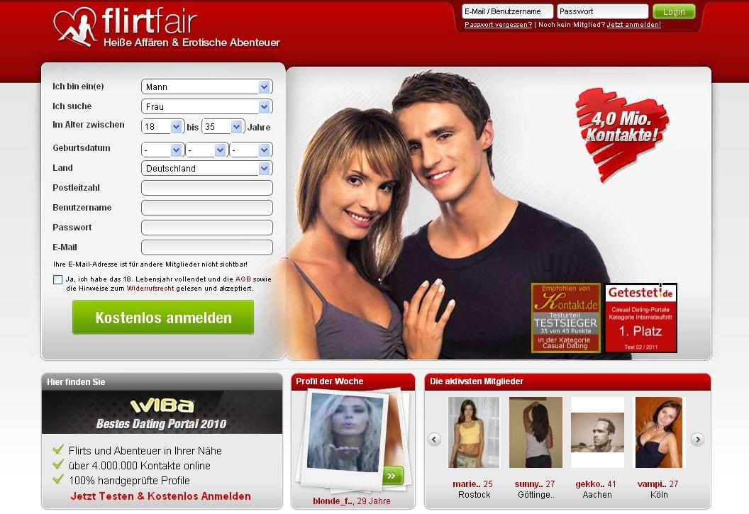 Flirten online