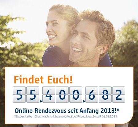 Single Partner beim Friendscout