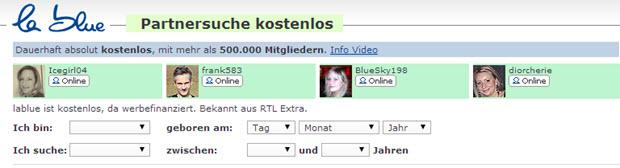 Lablue.de ist ideal für Sie wenn Sie kostenlos Partner suchen möchten